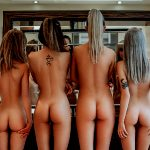FOUR Cute Little Butts FOR You.