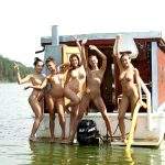 Summer Lake Party With Czech Teen Hotties