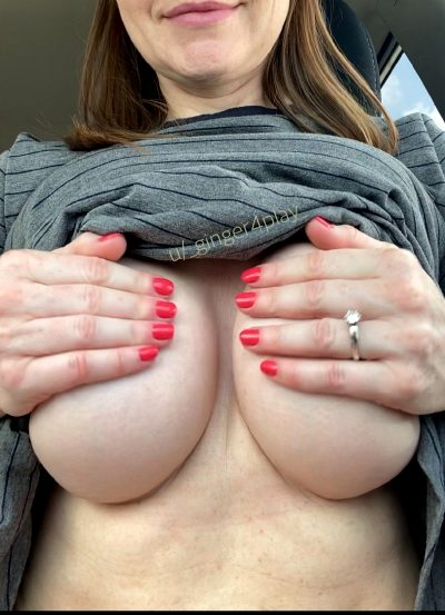 Anyone Else Like To See Milf Titties In The Car?