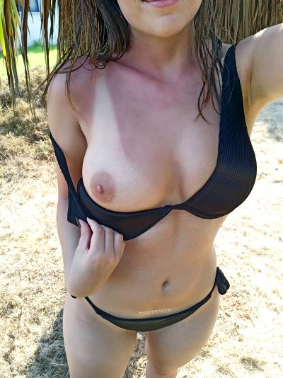 Are You Brave Enough To Suck My Nipple?