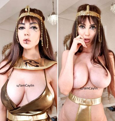 Cleopatra Is Ready To Be Worshipped By Caylinlive
