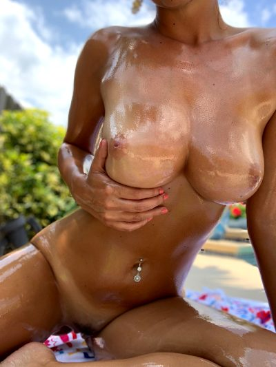 Dillion's Body, Oiled Up