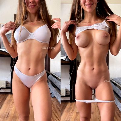Do I Look Good In This White Lingerie?