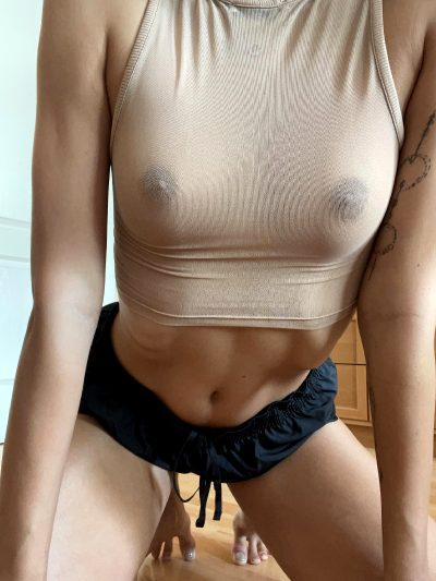 First Time Posting! Like My See-through Shirt? 😈