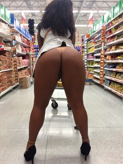 I Found The Big Booty Department At Walmart!
