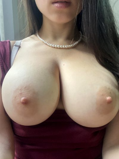 I Hope My Natural Boobs Can Brighten Your Day