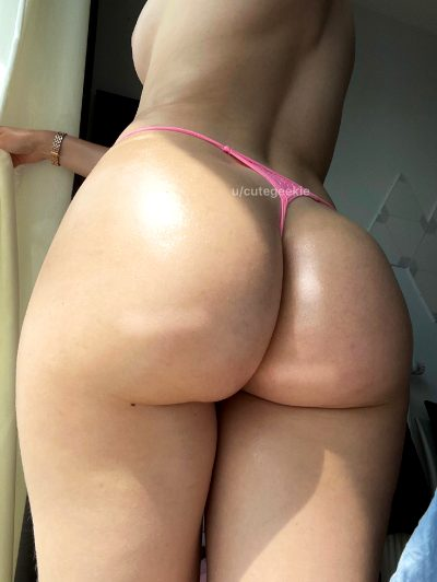 I Hope My Oiled Butt Can Make You Nut