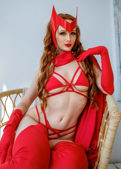 Lingerie Scarlet Witch By Tniwe