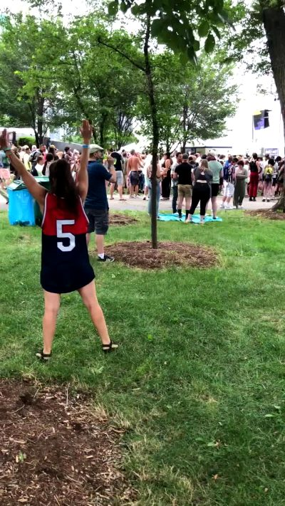 Lollapalooza Had Me Doing Cartwheels, So Here's A Bonus From Yesterday!