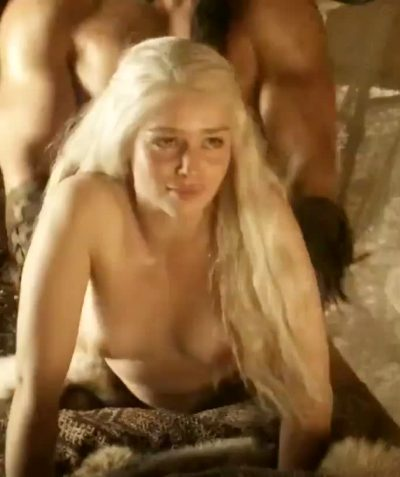 More Loads Have Been Dropped Over Emilia Clarke In This Scene Than For Most Pornstars
