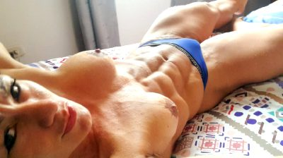 Muscular MILF With Hartd ABS