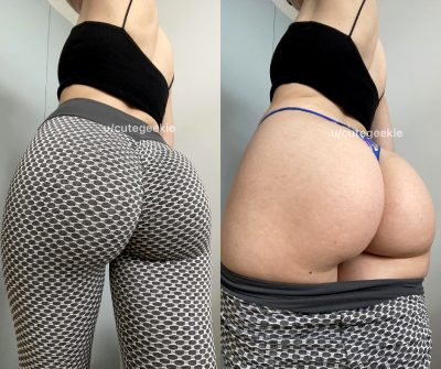 My Leggings Can Fit A Lot Of Ass In Them