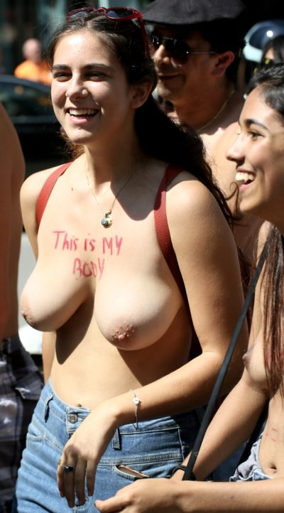 NYC Go Topless Day