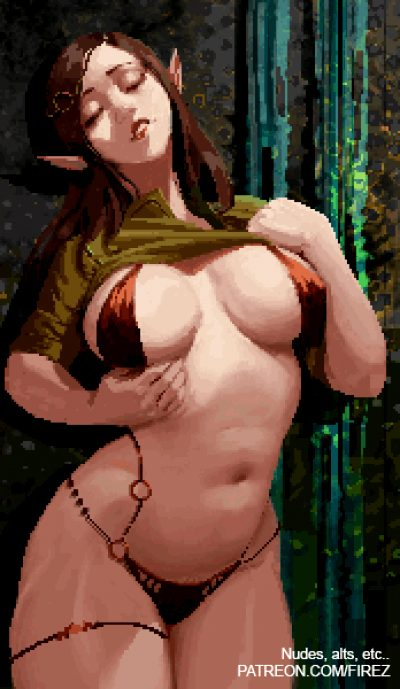 Thicc Elf Girl Animation