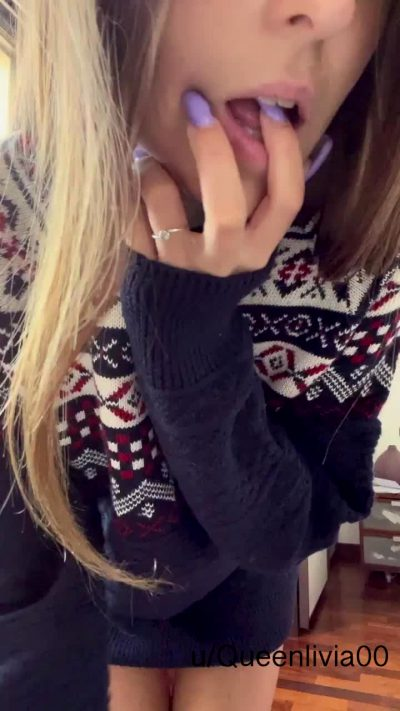 This Cutie Sweater Reminds Me Of Winter