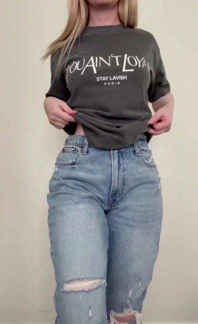 We're You Surprised What Was Under These Mom Jeans?