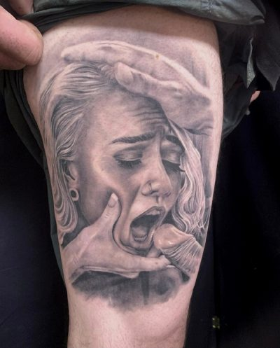 What An Amazing Tattoo.