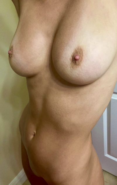 Which Would You Worship First? Tummy Or Tits??