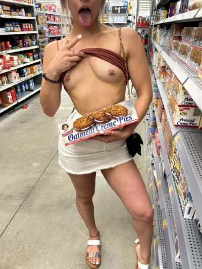 Who Wants To Give Me A Creampie While We Are Out Shopping?