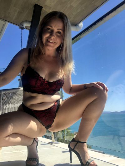 Wife 42 On The Balcony Catching Some Sun – Would You Smash Her For Me?