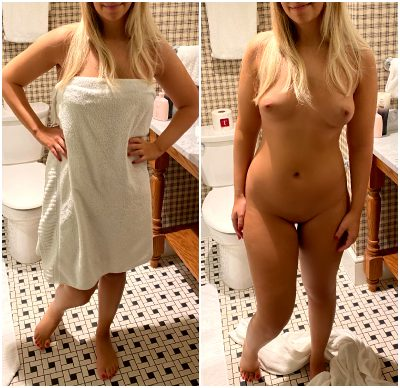 Would You Make Wifey Drop That Towel If You Were Alone With Her In A Hotel Room Like I Did?