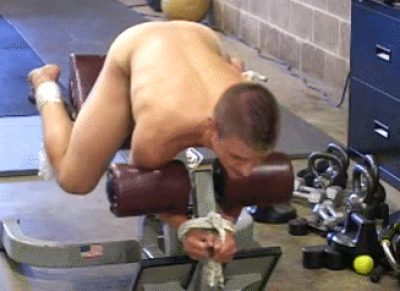Your College Bros Saw The Fantasy Post You Had Made On Reddit About Losing Your Virginity In A Weight Room Gangbang. They Decided To Make It Come True.