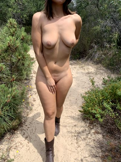 You're On A Hike A Suddenly You See Me Like This. What Do You Do?